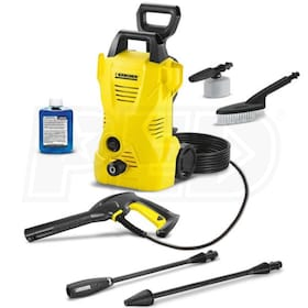 Karcher 1600 PSI (Electric - Cold Water) Pressure Washer w/ Car Care Kit
