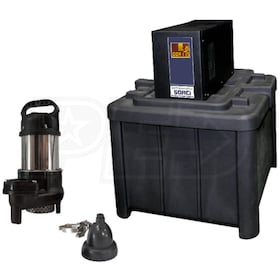 iON 50ACi+ Battery Backup Sump Pump System (3660 GPH @ 10')