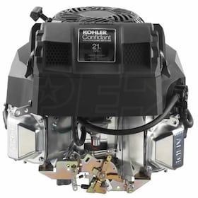 "Kohler Confidant ZT720 725cc 21 Gross HP Vertical Engine, 1"" x 3.16"" Crankshaft, Tapped 7/16""-20"