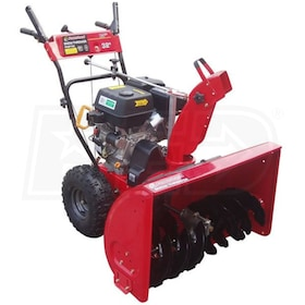 "Powerland (32"") 389cc Two-Stage Snow Blower w/ Electric Start"