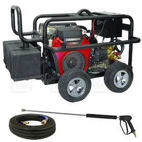 BE Professional 5000 PSI Belt-Drive (Gas Cold Water) Pressure Washer w/ GX690 Honda Engine