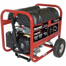 Powermate Px Series 5000 Watt Portable Generator w/ Subaru Engine