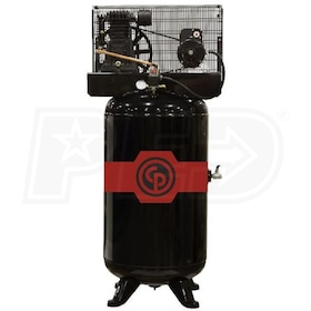 Chicago Pneumatic 5-HP 80-Gallon Dual-Voltage Two-Stage Air Compressor