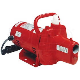 Red Lion 12.8 GPM 1/2 HP Cast Iron Portable Sprinkler / Utility Pump