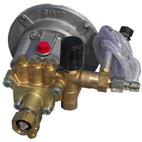 Pressure-Pro Fully Plumbed Giant DeVilbis 2500 PSI 2.5 GPM Replacement Pump w/ Plumbing Kit
