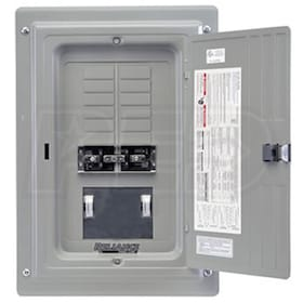 Reliance Controls 100-Amp Utility/50-Amp Gen Indoor Transfer Panel w/ Wattmeters