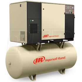 Ingersoll Rand 5-HP 80-Gallon Rotary Screw Total Air System (208V 3-Phase 125PSI)