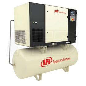 Ingersoll Rand 25-HP 240-Gallon Rotary Screw Air Compressor (208V 3-Phase 145 PSI)
