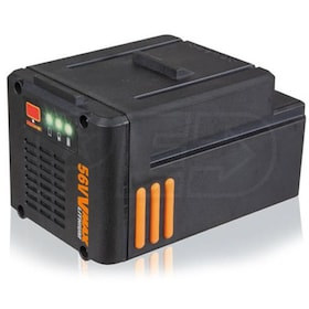 Worx 56-Volt 2.5Ah Lithium-ion Battery