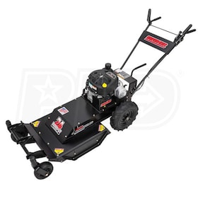 "Swisher Predator (24"") 11.5 HP Walk Behind Rough Cut Mower with Casters"