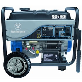 Westinghouse WH7500E 7500 Watt Electric Start Portable Generator