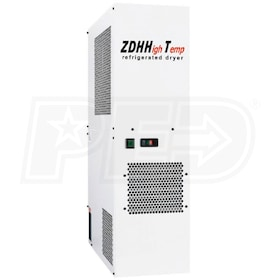 "Parker ZDHHT75 High Inlet 3/4"" NPTF Refrigerated Air Dryer 15HP (89.2 CFM)"