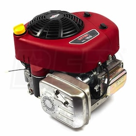 "Briggs & Stratton Intek Series™ 344cc 10.5 Gross HP Electric Start Vertical Engine, 1"" x 3-5/32"" Crankshaft, Tapped 7/16""-20, 1/4"" Keyway"