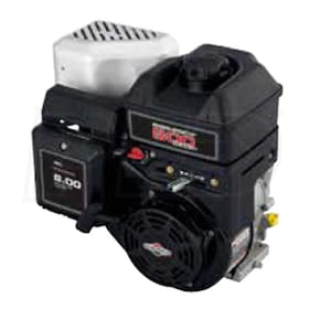 "Briggs & Stratton 800 Series™ 205cc Horizontal Engine, 6:1 Gear Reduction, 3/4"" x 1-13/16"" Crankshaft, 3/16"" Straight Keyway"