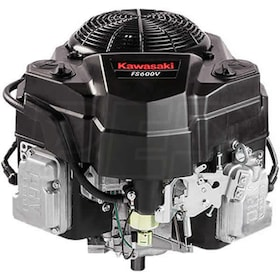 "Kawasaki FS600V - 603cc 18.5HP OHV V-Twin Vertical Engine, No Muffler, Clutch Coil, 1"" x 80mm Crankshaft"