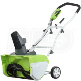 "GreenWorks (20"") 12-Amp Electric Snow Blower"
