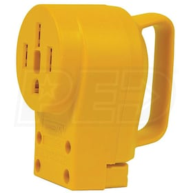 Camco Power Grip Series™ 50-Amp (Straight Blade) Replacement Receptacle