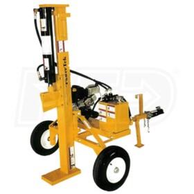 PowerTek 30-Ton Honda Powered  Horizontal / Vertical Gas Log Splitter