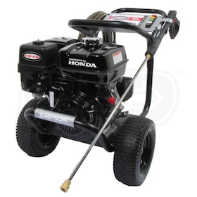 Simpson PowerShot Professional 3800 PSI (Gas-Cold Water) Pressure Washer w/ Honda Engine