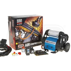 ARB Air Locker 24-Volt Onboard Medium-Duty Ultra-Compact Vehicle Tankless Air Compressor