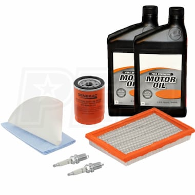 Generac 14-17KW Maintenance Kit for 2013 Evolution Standbys w/ 10W-30 Synthetic Oil