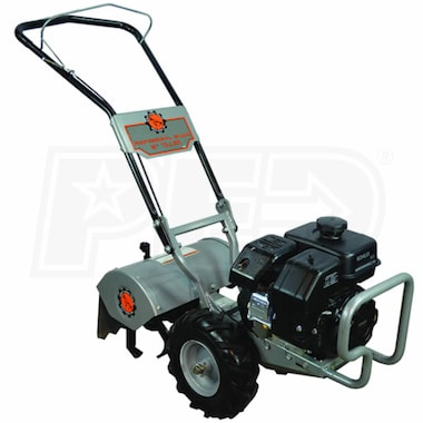 "Dirty Hand Tools (16"") 196cc Counter Rotating Rear Tine Tiller"