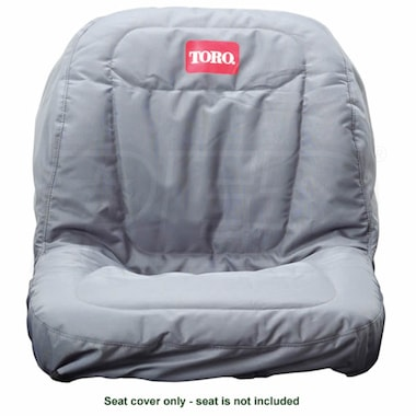 "Toro Seat Cover, TimeCutter (18"" Seat w/o Armrests)"