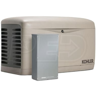 Kohler 14KW Composite Standby Generator System (100A 16-Circuit Switch) (Scratch & Dent)