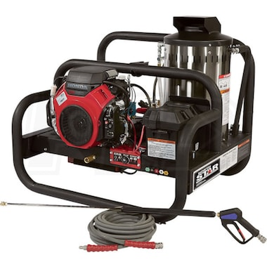 NorthStar Professional 4000 PSI (Gas-Hot Water) Truck Mount Pressure Washer w/ Honda Engine