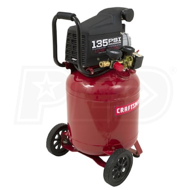 Craftsman 1-HP 10-Gallon Portable Air Compressor with Inflation/Blowgun Kit