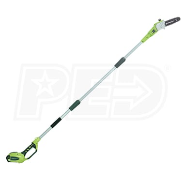"Greenworks G-Max (8"") 40-Volt Lithium-Ion Cordless Pole Saw (No Battery - Tool Only)"