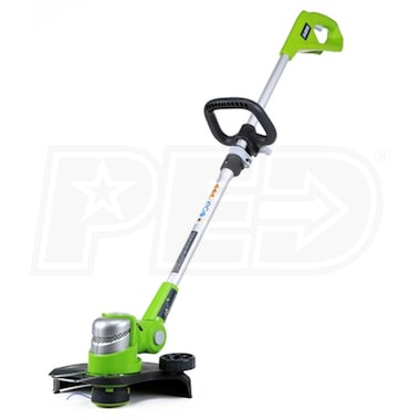 "Greenworks G24 (12"") 24-Volt Lithium-Ion Cordless String Trimmer/Edger (Tool Only)"
