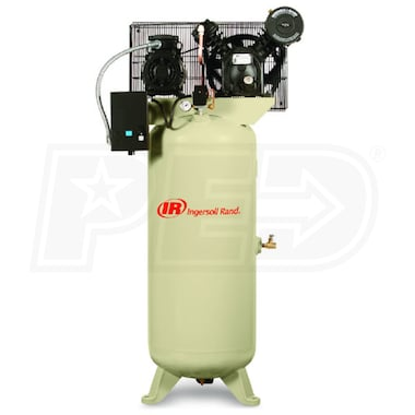 Ingersoll Rand 5-HP 60-Gallon Two-Stage Air Compressor (230V 3-Phase)