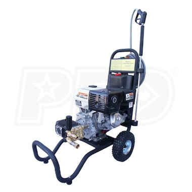 Cam Spray Professional 3000 PSI (Gas-Warm Water) Pressure Washer w/ Honda Engine