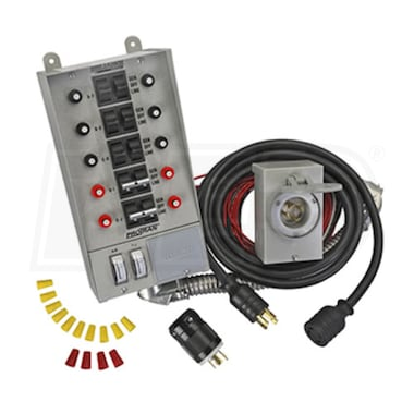 Reliance Controls Power Transfer Switch Kit for Portable Generators (10 Circuit)