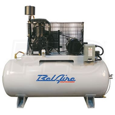 BelAire Elite Series 7.5-HP 80-Gallon Two-Stage Air Compressor (208-230V 1-Phase)