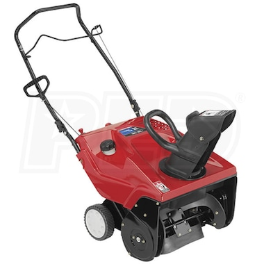 "Troy-Bilt Squall 210 (21"") 123cc Single-Stage Snow Blower"