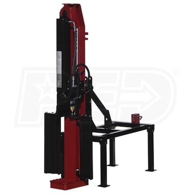 Boss Industrial 3-Point Tractor Mount Horizontal/Vertical Log Splitter (34 Ton Max Force)