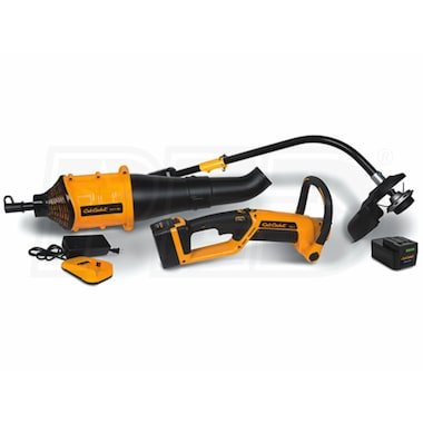 Cub Cadet CC1 40-Volt Lithium Ion Cordless String Trimmer/Leaf Blower Combo Kit