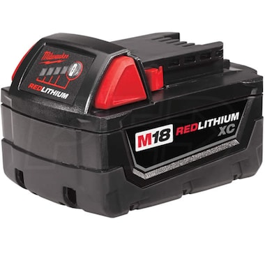 Milwaukee 48-11-1828 - M18™ REDLITHIUM™ 18-Volt XC 3.0Ah Extended Capacity Battery Pack