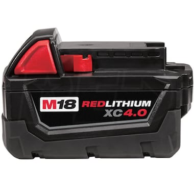 Milwaukee 48-11-1840 - M18™ REDLITHIUM™ 18-Volt XC 4.0Ah Extended Capacity Battery Pack