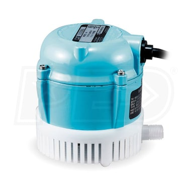 Little Giant 1-T - 3.4 GPM 1/150 HP Submersible Fountain Pump w/ 10' Cord
