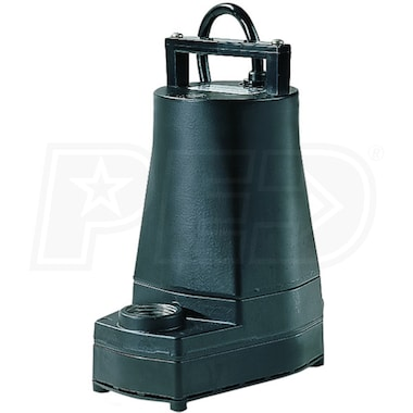 "Little Giant 5-MSPR - 20 GPM (1"") Aluminum Submersible Utility Pump"