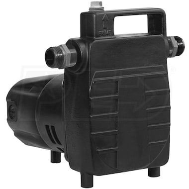 "Little Giant UPSP-5 - 20.8 GPM  1/2 HP (3/4"") Cast Iron Transfer/Booster Pump"