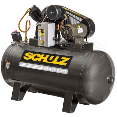Schulz V-Series 5-HP 80-Gallon Two-Stage Air Compressor (208V 3-Phase)