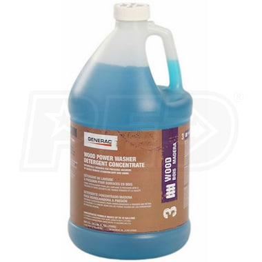 Generac Wood & Siding Pressure Washer Detergent Concentrate (1 Gallon)