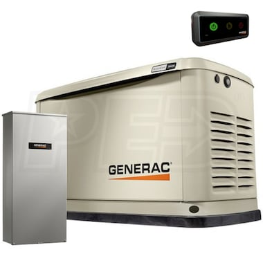 Generac Guardian™ 11kW  Aluminum Standby Generator System (200A Service Disconnect + AC Shedding)