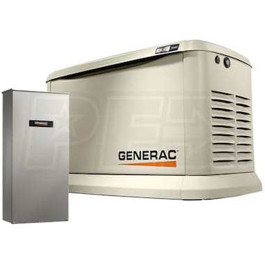 Generac Synergy™ 20kW Variable Speed Standby Generator (200A ATS + Power Mgmt.)
