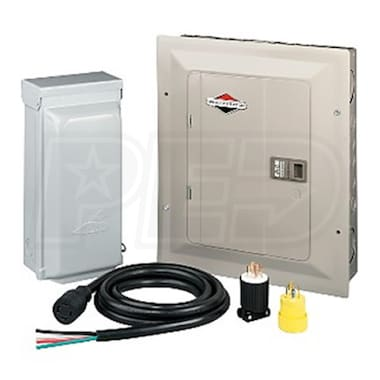 Briggs & Stratton PowerNow 30-Amp/20-Amp Generator Transfer Switch Kit (10 Circuits)