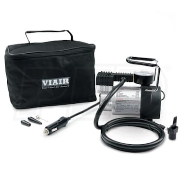 VIAIR 74P Sport Compact Series 12-Volt 100-PSI Portable Inflator Kit (30 Minutes @ 30 PSI) Up To 225/60R18 Size Tires